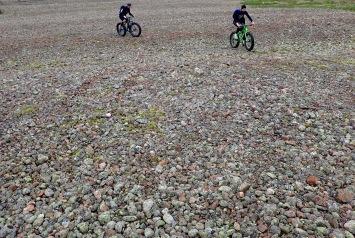The rock fields of Sandön
