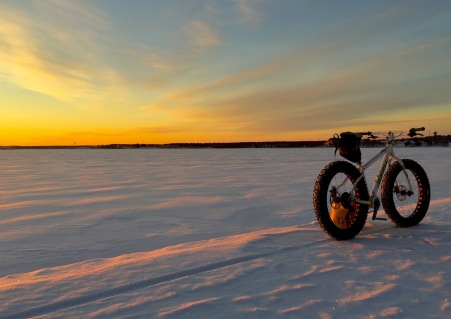 Fat bike in it´s right environment