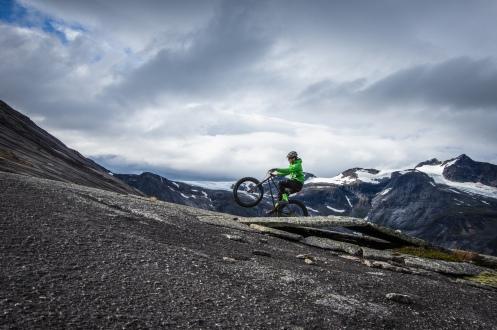 Wheelie... Photo: Johan Lindhberg