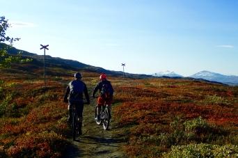 on our way to kratersjönn