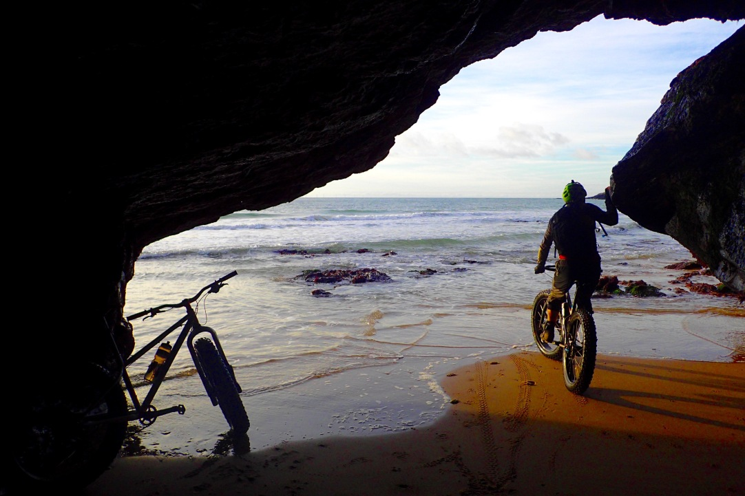 Low tide caves