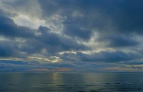 The Irish sea is stunning